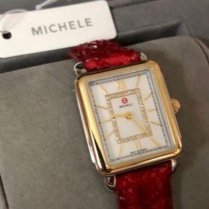Authentic Michele Deco II watch